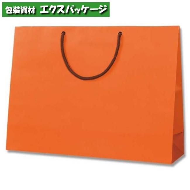 【シモジマ】ブライトバッグ Y2 Dオレンジ マットPP貼り 50枚入 #006138108 【ケース販売】