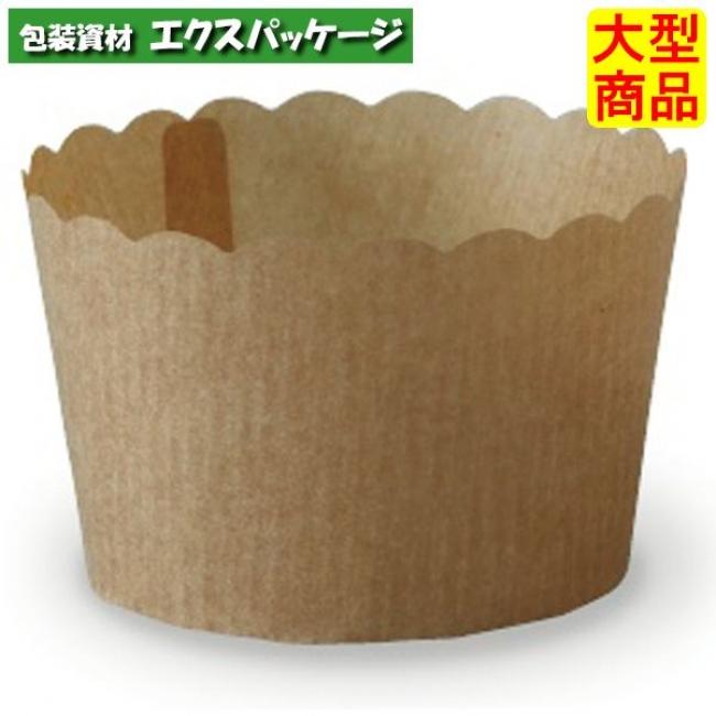 ペルガミンカップ 茶無地 PM320 2643024 1000枚入 ケース販売 大型商品 取り寄せ品 天満紙器