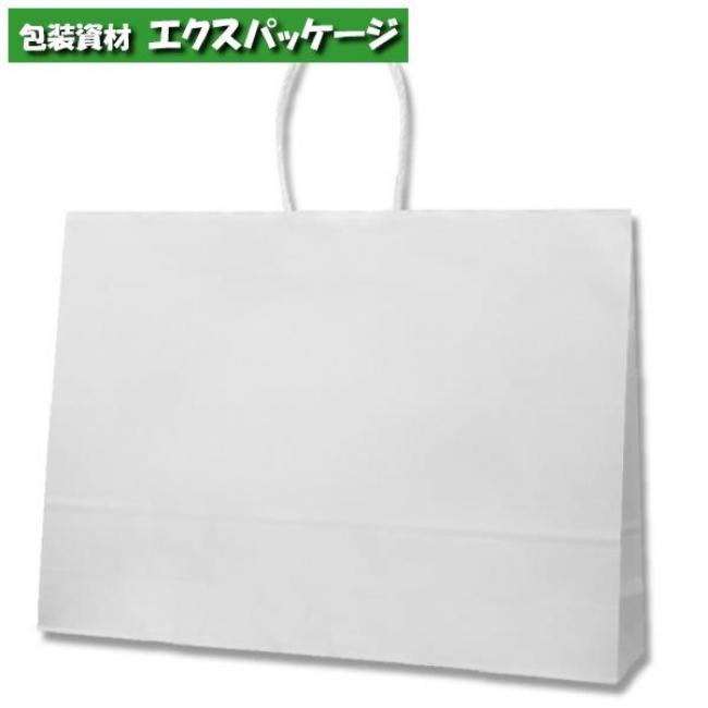 25チャームバッグ 55-1 片艶120g 白無地 200枚入 #003298500 ケース販売 取り寄せ品 シモジマ