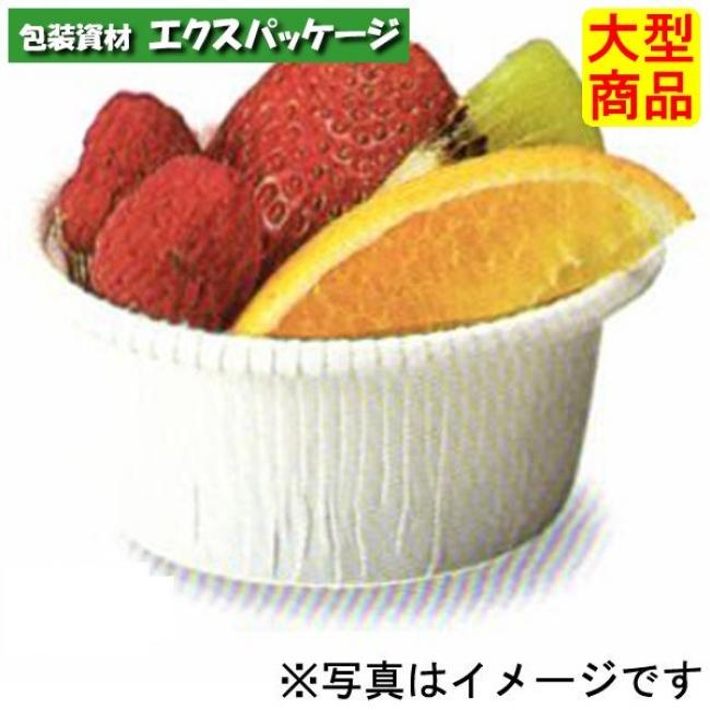 【天満紙器】CR-01 カールカップ (白) 本体のみ 2000入 2690030 【ケース販売】