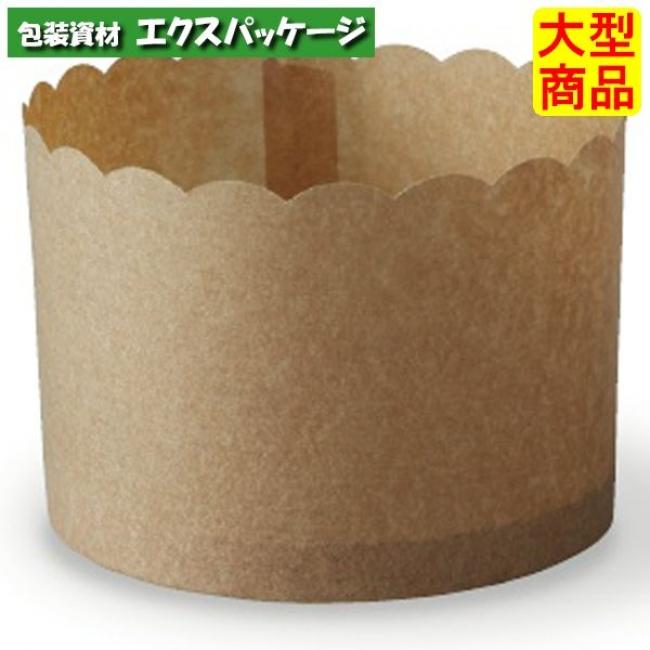 【天満紙器】ペルガミンパネカップ 茶無地 PM340 2643042 1000枚入 【ケース販売】