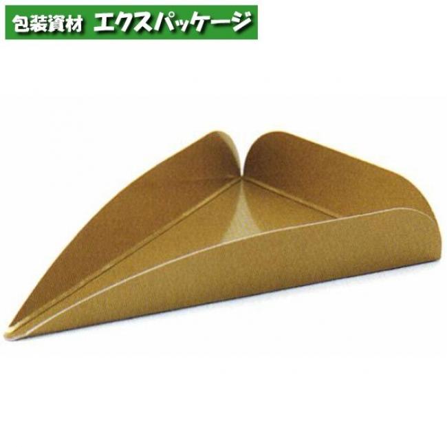 【天満紙器】CP-151 ケーキプレート トルテ・10カット (ゴールド) 2000入 2780521 【ケース販売】
