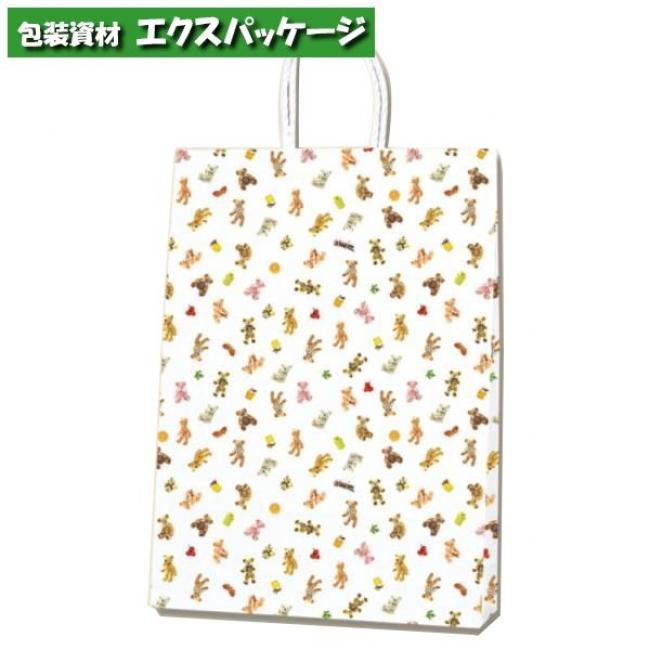 【シモジマ】Pスムース 2才 プチベア 300枚入 #003154004 【ケース販売】