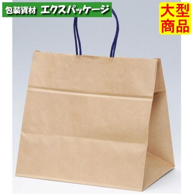 フラワーアレンジバッグ 手提袋 ファンシーバック M ブラウン XZV01021 200枚入 ケース販売 取り寄せ品 パックタケヤマ