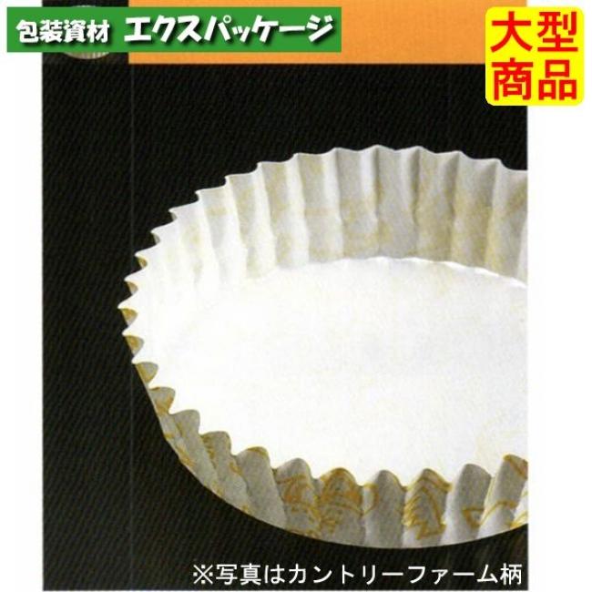 【天満紙器】PTC12030-B ペットカップ 茶ブロック柄 丸型 4500入 1501217 【ケース販売】