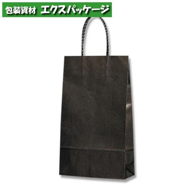 【シモジマ】スムースバッグ 4才 黒無地 300枚入 #003156091 【ケース販売】