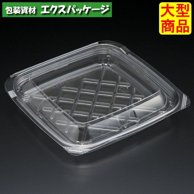 【スミ】 アスコンY 118A 透明 本体・蓋一体 1000枚入 4A18110 Vol.22P81 【ケース販売】