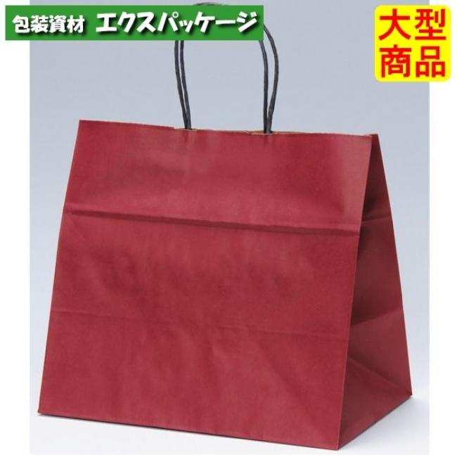 フラワーアレンジバッグ 手提袋 ファンシーバック M ワイン XZV01022 200枚入 ケース販売 取り寄せ品 パックタケヤマ