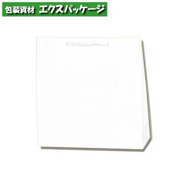 【シモジマ】広口チャームバッグ M-1 白無地 200枚入 #006442100 【ケース販売】