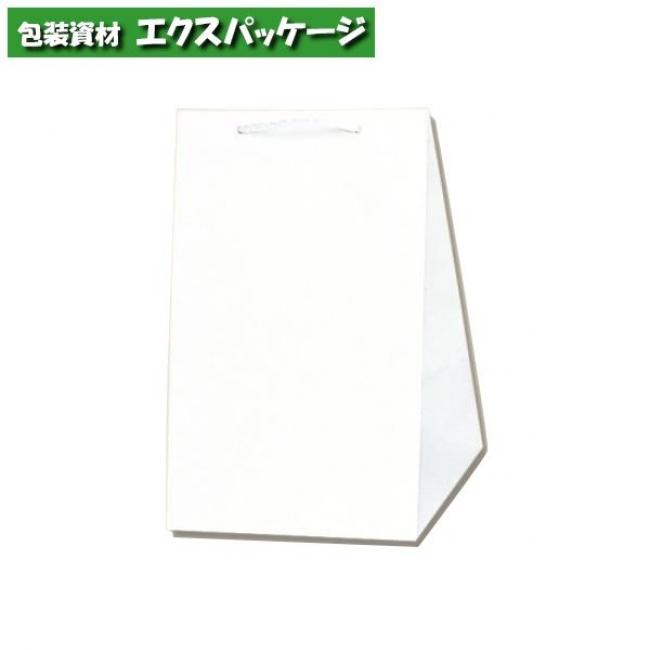 広口チャームバッグ L-2 白無地 100枚入 #006442201 ケース販売 取り寄せ品 シモジマ