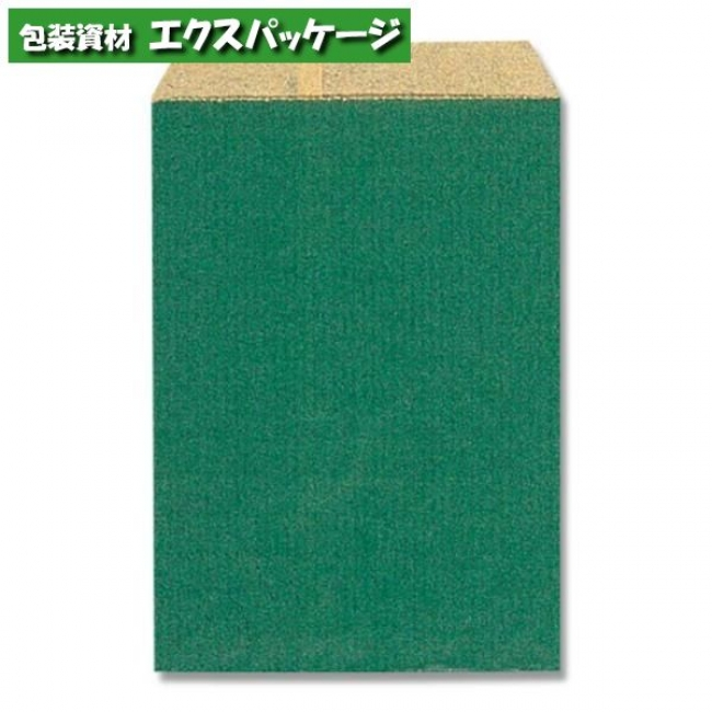 【シモジマ】柄小袋 Rタイプ R-85 筋入無地グリーン 6000枚入 #006527001 【ケース販売】
