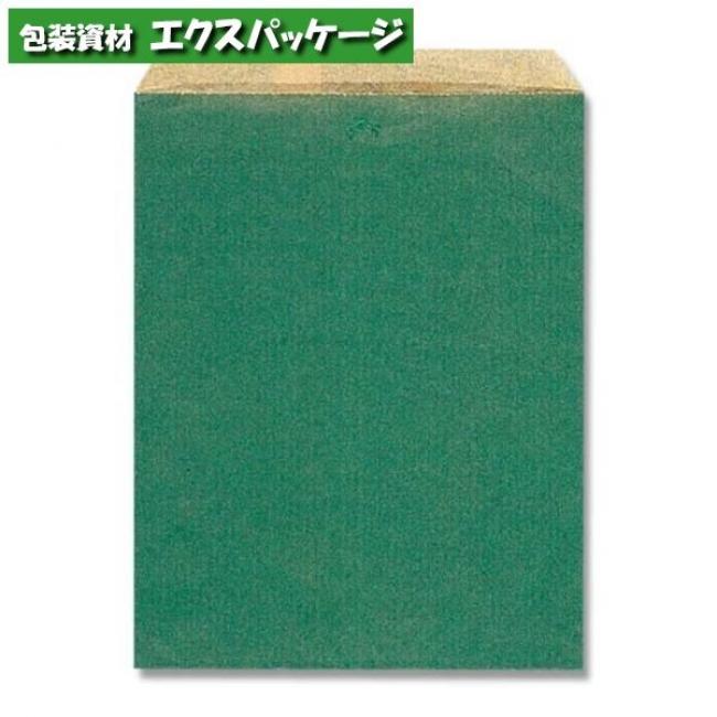 【シモジマ】柄小袋 Rタイプ R-70 筋入無地グリーン 6000枚入 #006526700 【ケース販売】