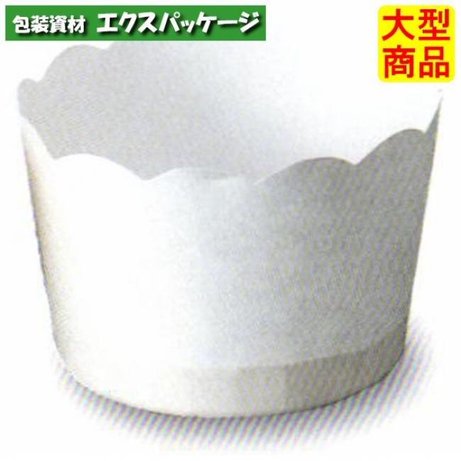 ポテトカップ 白 M508 2640640 3000枚入 ケース販売 大型商品 取り寄せ品 天満紙器
