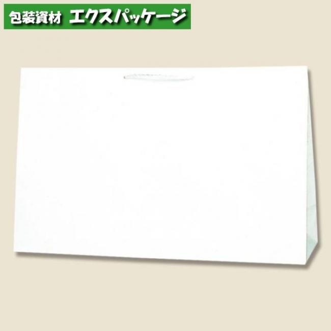 広口チャームバッグ BR-1 白無地 50枚入 #006442301 ケース販売 取り寄せ品 シモジマ