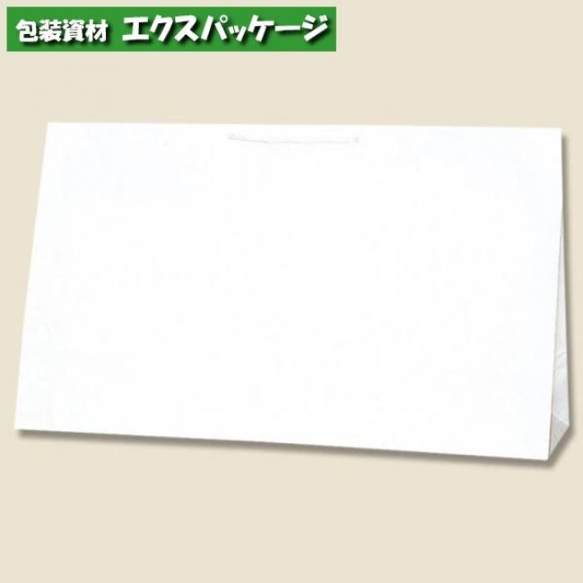 広口チャームバッグ BR-2 白無地 50枚入 #006442401 ケース販売 取り寄せ品 シモジマ
