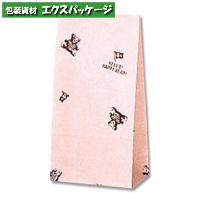 【シモジマ】ファンシーバッグ SS ハッピーベア 2000枚入 #003085000 【ケース販売】