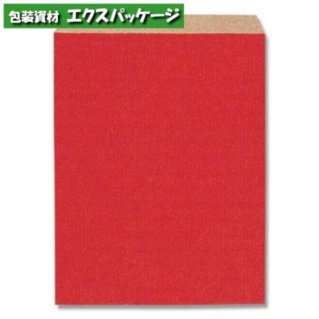 柄小袋 Rタイプ R-70 筋入無地赤 6000枚入 #006526701 ケース販売 取り寄せ品 シモジマ