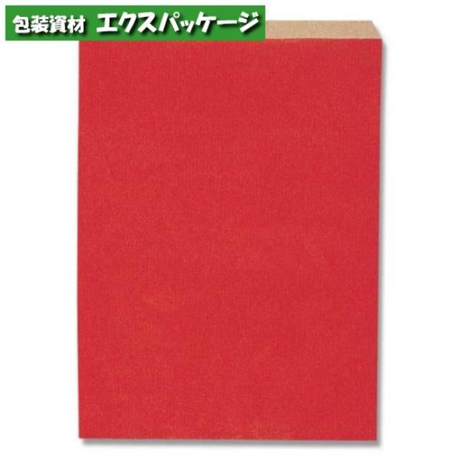 柄小袋 Rタイプ R-20 筋入無地赤 2000枚入 #006526302 ケース販売 取り寄せ品 シモジマ