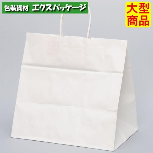 【パックタケヤマ】手提袋 HV78 晒 無地(白無地) XZT00910 200入 【ケース販売】