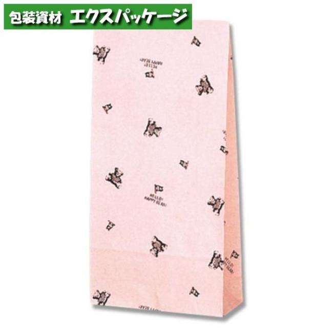 ファンシーバッグ S4 ハッピーベア 1500枚入 #003085400 ケース販売 取り寄せ品 シモジマ
