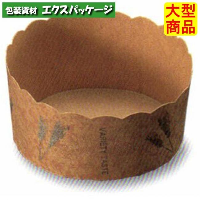 ベーキングカップ 小麦 M521 2640515 2400枚入 ケース販売 大型商品 取り寄せ品 天満紙器