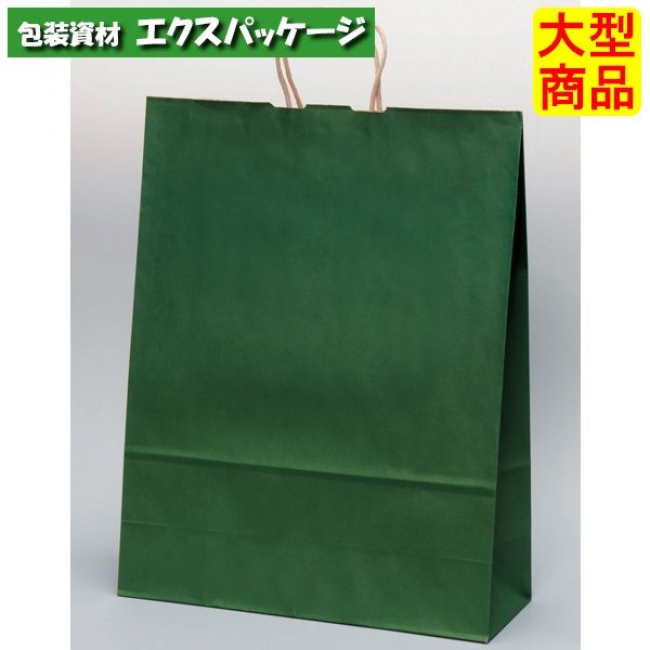 手提袋 手提別寸 HV140 エメラルド XZT00879 200枚入 ケース販売 取り寄せ品 パックタケヤマ