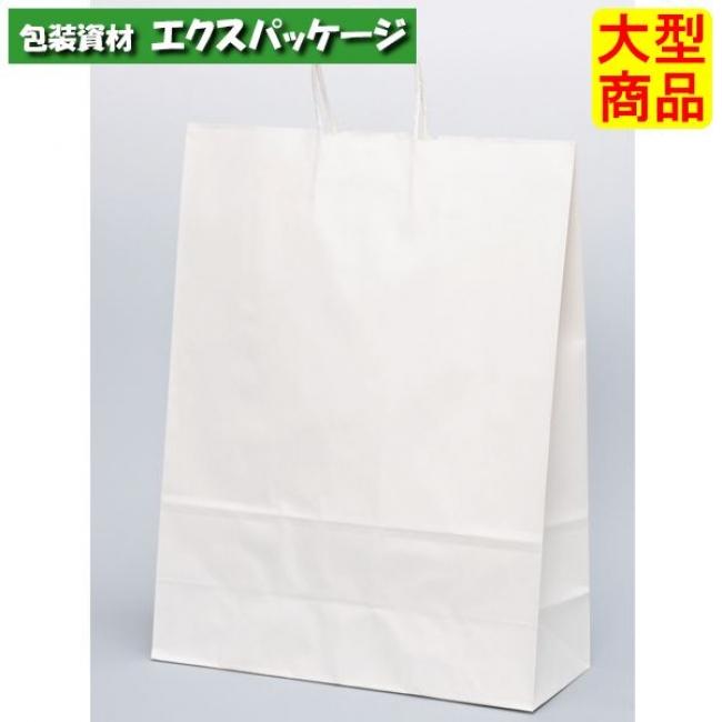 手提袋 HV100 晒 無地(白無地) XZT00946 200枚入 ケース販売 取り寄せ品 パックタケヤマ