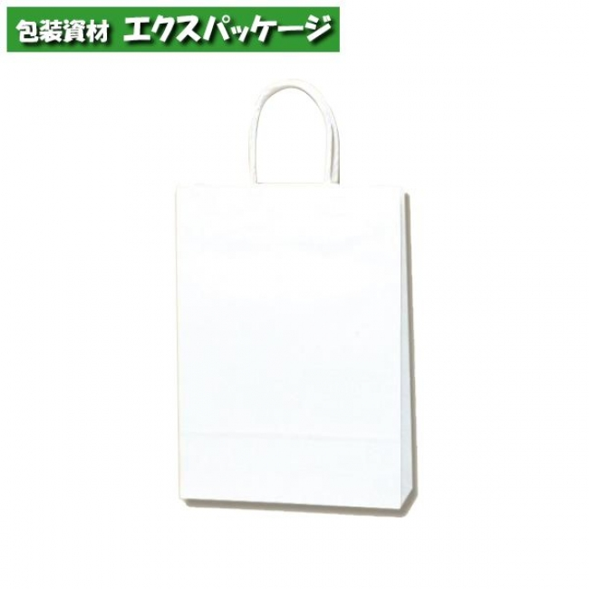 スムースバッグ S-100 片艶120g 白無地 300枚入 #003155600 ケース販売 取り寄せ品 シモジマ