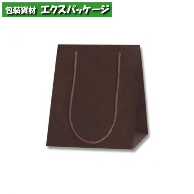 カラーアレンジバッグ 3S 焦茶 100枚入 #006441051 ケース販売 取り寄せ品 シモジマ