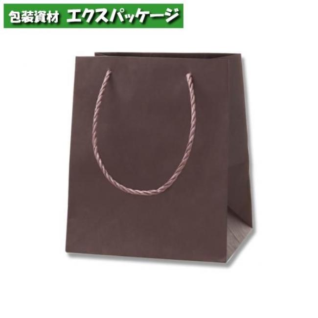 カラーアレンジバッグ SS 焦茶 50枚入 #006441041 ケース販売 取り寄せ品 シモジマ