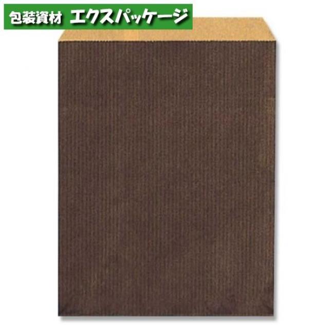 柄小袋 Rタイプ R-70 筋入無地焦茶 6000枚入 #006526703 ケース販売 取り寄せ品 シモジマ