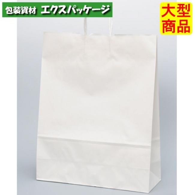 手提袋 HV140 晒 無地(白無地) XZT00880 200枚入 ケース販売 取り寄せ品 パックタケヤマ