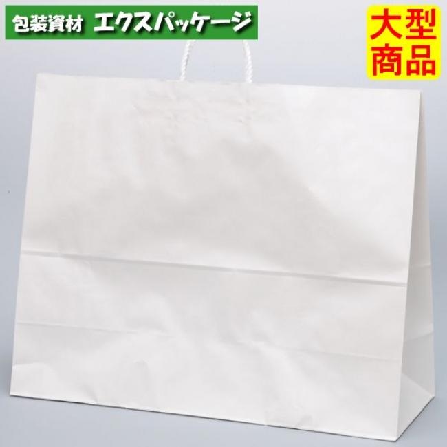 手提袋 HV160 晒 無地(白無地) XZV01010 100枚入 ケース販売 取り寄せ品 パックタケヤマ