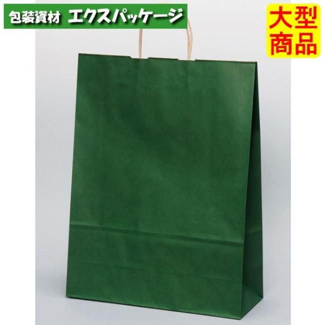 手提袋 HV100 エメラルド XZT00955 200枚入 ケース販売 取り寄せ品 パックタケヤマ