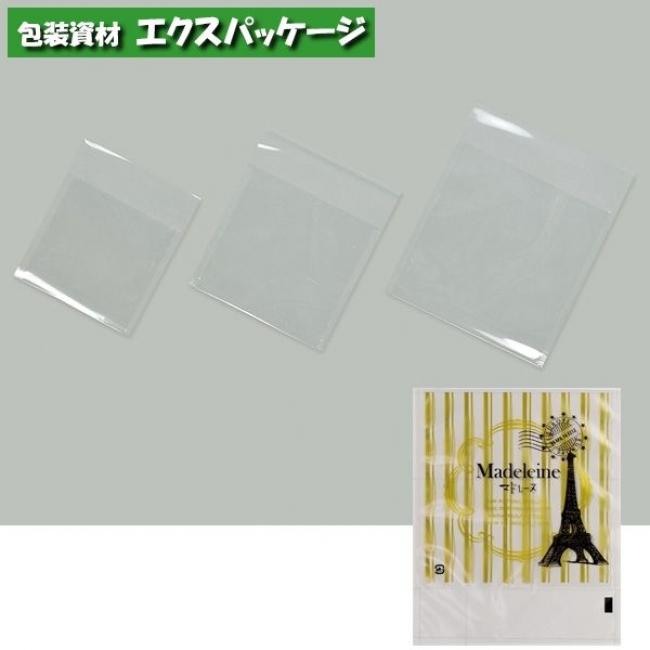 カマス口ずらし袋 カマスKT (透明タイプ) No.3マドレーヌ 6000枚 0801631(0803758) ケース販売 取り寄せ品 福助工業