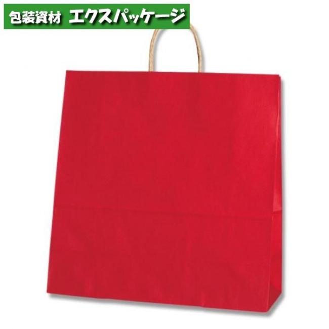25チャームバッグ 45-1 未晒色無地 赤C 200枚入 #003296100 ケース販売 取り寄せ品 シモジマ