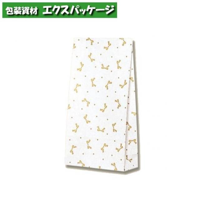【シモジマ】ファンシーバッグ S3 ニューリボン 金 1500枚入 #003083300 【ケース販売】
