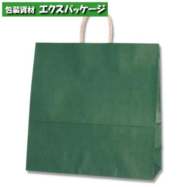 25チャームバッグ 45-1 未晒色無地 グリーンC 200枚入 #003296300 ケース販売 取り寄せ品 シモジマ