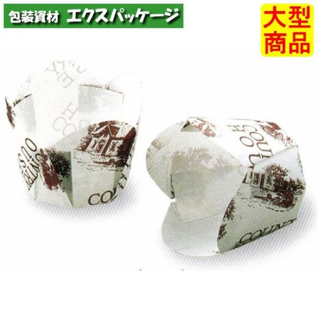【天満紙器】M304 チューリップカップ (ハウス 白) 3000入 2620002 【ケース販売】