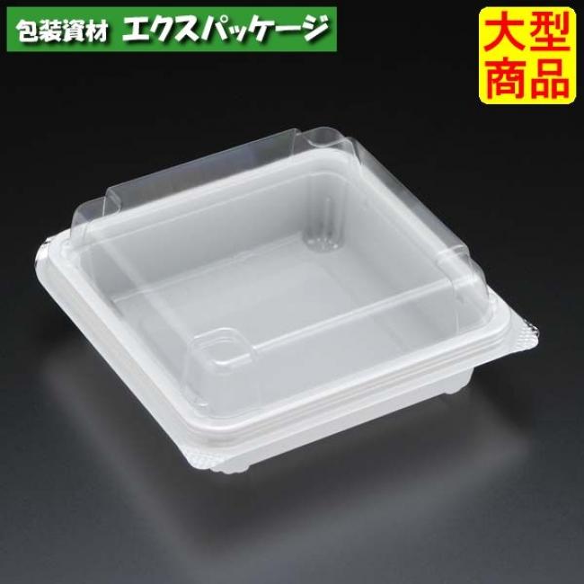 ユニコン LS-84-10 W(白) 1000枚入 本体・蓋一体 5S84201 ケース販売 大型商品 取り寄せ品 スミ