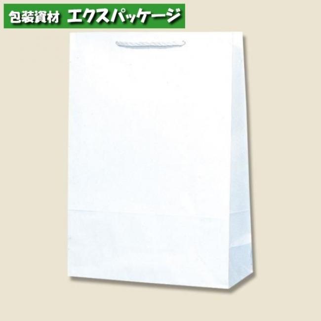 T型チャームバッグ 大判 片艶120g 白無地 200枚入 #003182100 ケース販売 取り寄せ品 シモジマ