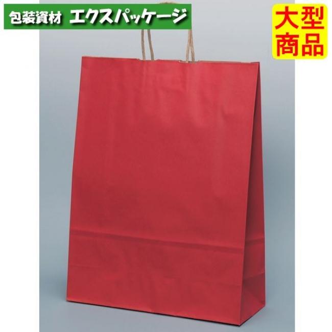 手提袋 HV100 ルージュ XZT00953 200枚入 ケース販売 取り寄せ品 パックタケヤマ