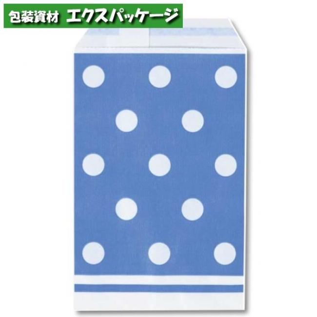 柄小袋 Rタイプ R-100 シンプルドットB 6000枚入 #006527257 ケース販売 取り寄せ品 シモジマ