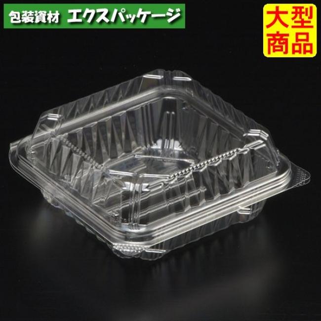 【スミ】 ユニコン LS-T7 透明 本体・蓋一体 1000枚入 5ST7110 Vol.22P55 【ケース販売】