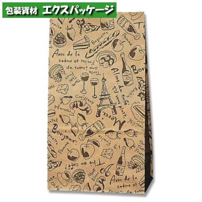 角底袋 未晒ブランチ No.4 2000枚入 #004048401 ケース販売 取り寄せ品 シモジマ