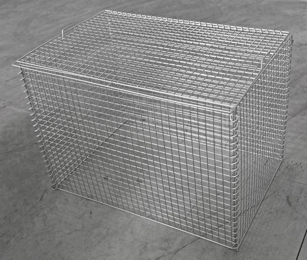 折り畳み式ゴミ収集庫リサイクルボックス幅900mm×奥行600mm×高さ650mm カラス・猫対策 軽量タイプ送料無料
