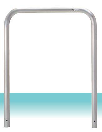 車止めゲート ステンレス製 W700mm x H650mm 固定式『S4-7』 自宅前・駐車場・歩道で車をガード 格安 DIY 送料無料