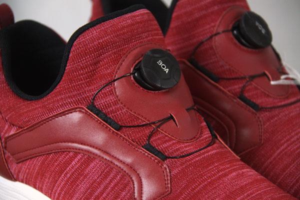 ◆f-shop◆マドラス JADE 27.0-27.5cm対応 スニーカー JD9999 *tei MKO【smtb-TD】【saitama】 MSHO ダンスシューズ プレゼント ギフト madras fshop f-shop エフショップ 服 靴 アカ レッド ニット素材