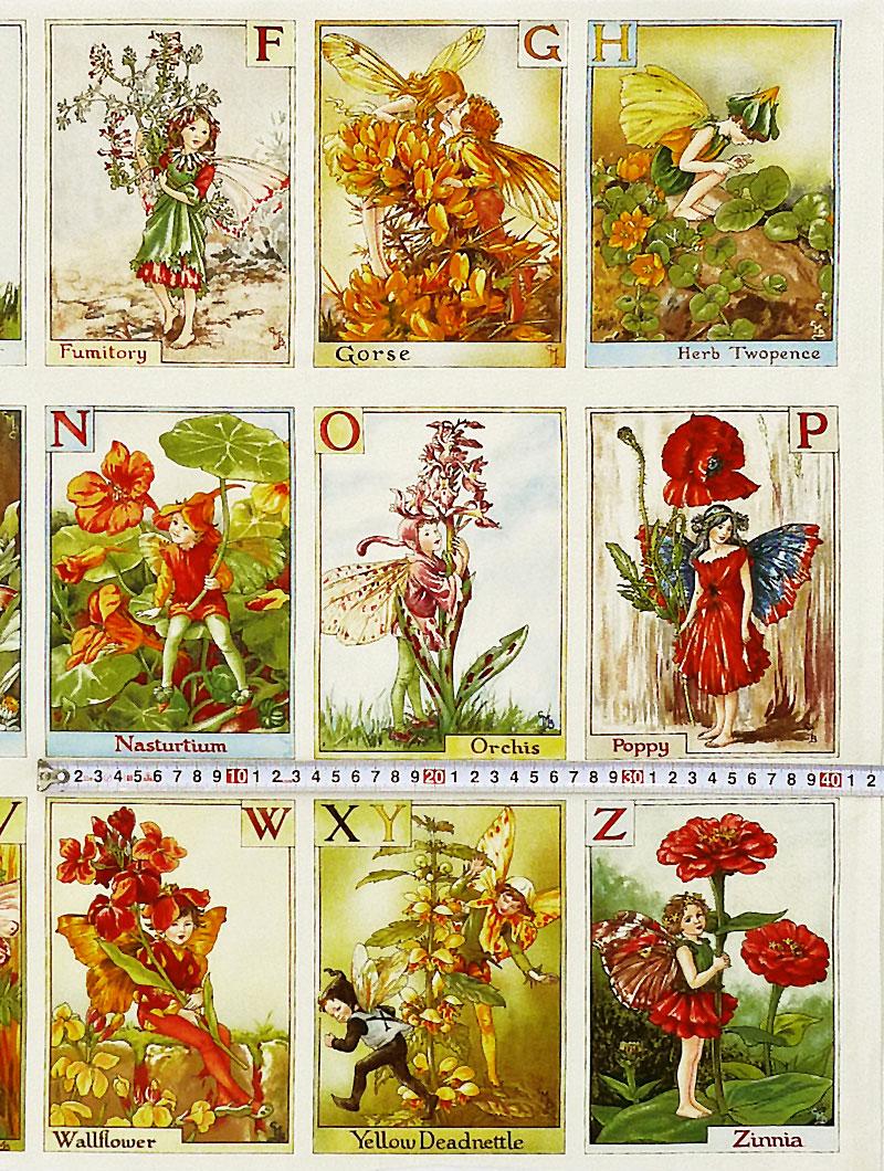 Fairy Cotton Rakuten Itiba Ten Mimi 2929 Flower Fairy Alphabet