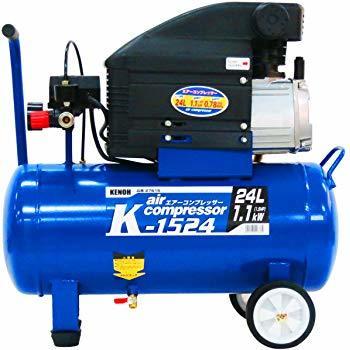 レシプロ式エアーコンプレッサー(オイル式) ?消費電力:900/1100W (50/60Hz) ?タンク容量:24L ?吐出量:62/78L/min (50/60Hz) ?最高使用圧力:0.78MPa(8kgf/cm2) ?再起動圧力:0.59MPa(6kgf/cm2) ?圧力調整範囲:0~0.78Mpa(0~8kgf/2)
